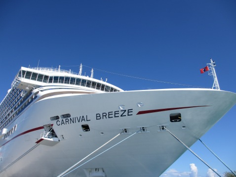 Carnival Breeze at Grand Turk, Turks and Caicos Islands