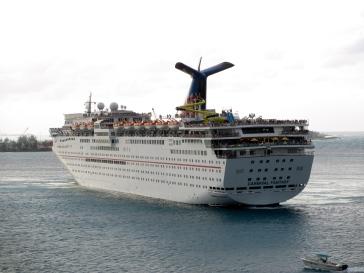 Carnival Fantasy at Nassau, Bahamas