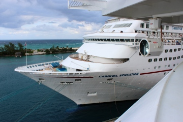 Carnival Sensation at Nassau, Bahamas