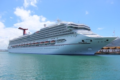 Carnival Breeze at San Juan, Puerto Rico.