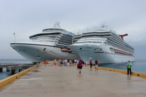 Carnival Conquest at Cozumel, Mexico