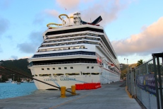 Carnival Sunshine at St. Thomas, U.S.V.I.