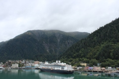 Holland America Line ms Amsterdam at Juneau, Alaska