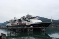 ms Volendam at Juneau, Alaska