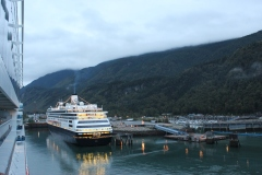 Holland America Line ms Volendam at Skagway, Alaska - September 2017