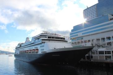 ms Volendam, Vancouver Canada